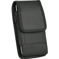 For Samsung Galaxy S6 Edge Galaxy S7 Galaxy S8 Galaxy S9 Vertical Smart Phone Case Pouch Holster w/ Belt Loop