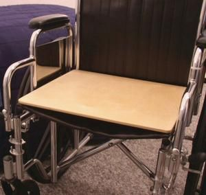 "Mobility Transfer Systems SafetySure Wooden Wheelchair Board  18"" W x 16"" D, 1 Count"