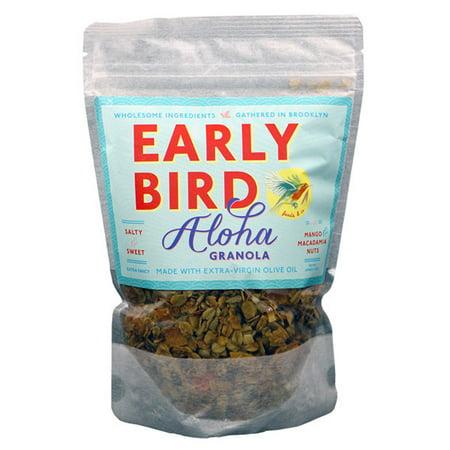 Early Bird Aloha Recipe Mango & Macadamia Nuts Granola 12 oz Bags - Single - Mango Punch Recipe