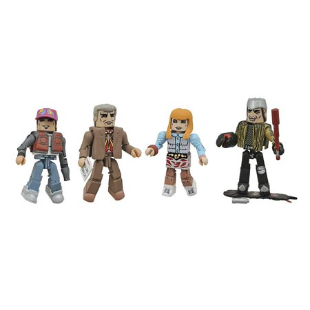 Anniversary Toys - Diamond Select Toys Back to The Future 30th Anniversary Minimates Hill Valley Box Set