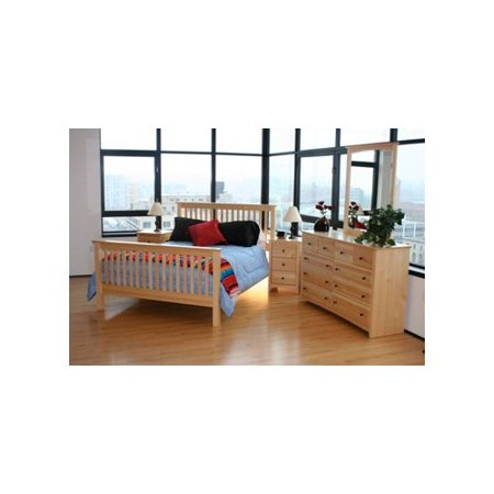 maco furniture windridge 5 piece pine shaker bedroom set