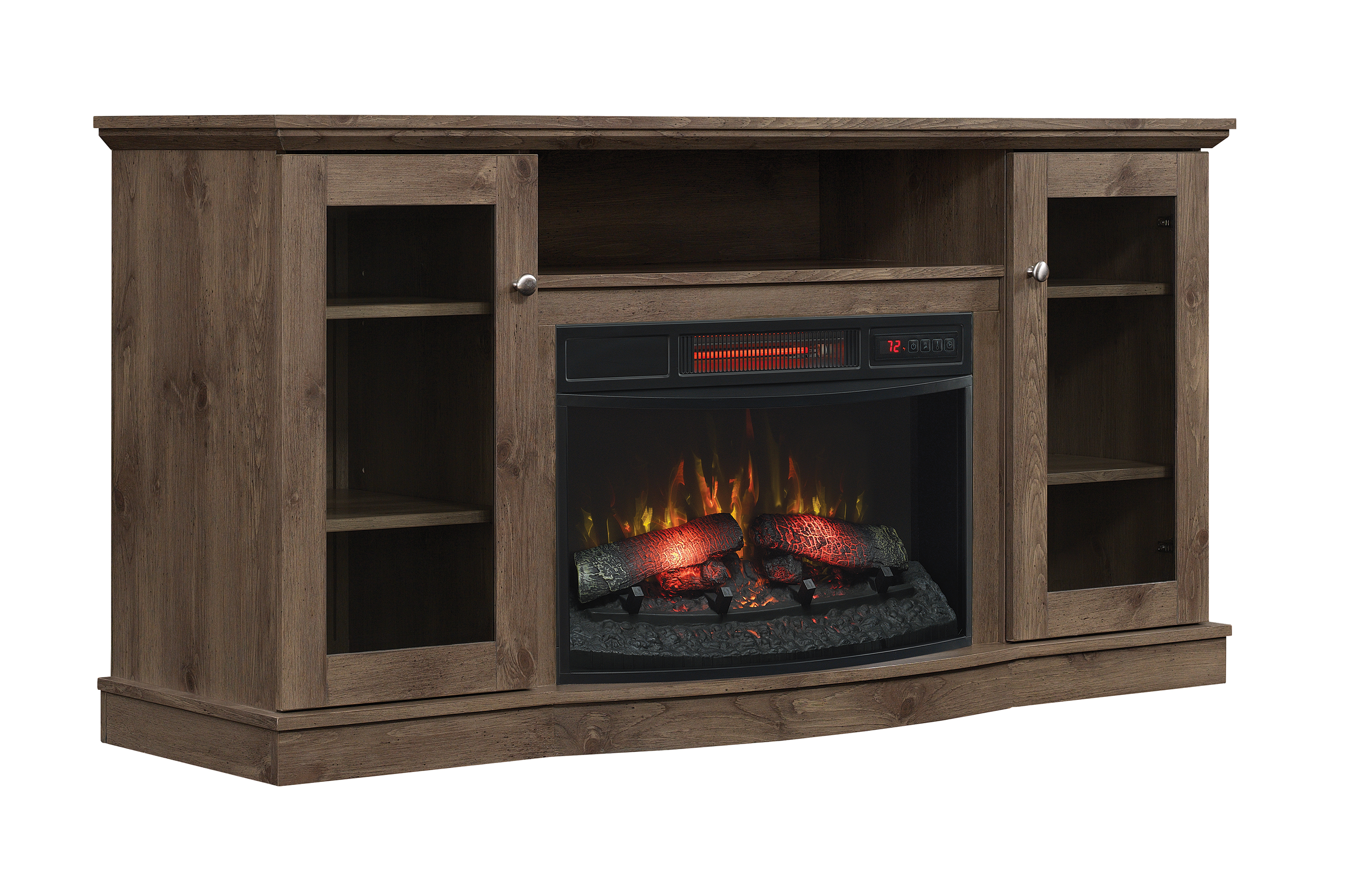 group most catalog product brown rustic fireplaces delaney new inc fireplace muskoka realistic media ghp electric