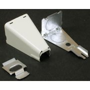 """WIREMOLD LEGRAND V5785 2-1/2"""" RACEWAY COMBO CONNECTOR, IVORY"""