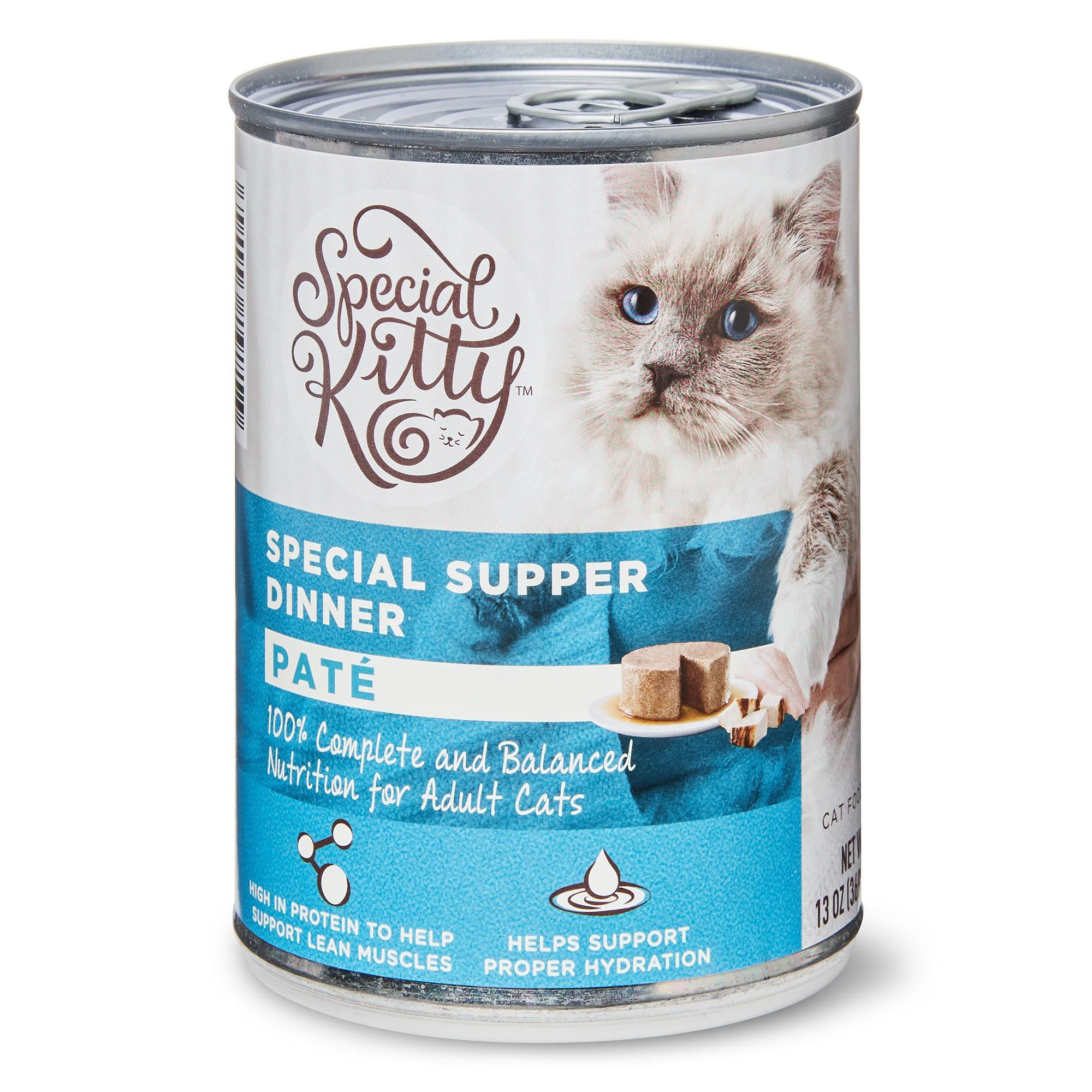 Special Kitty Special Supper Dinner Pate Wet Cat Food, 13 ...