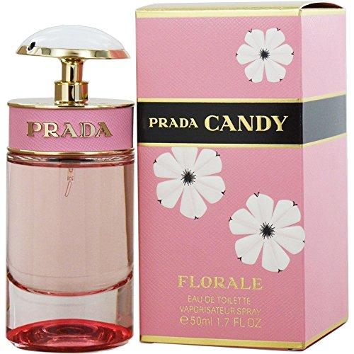 Prada Candy Florale Eau De Toilette Spray, 1.7 Ounce
