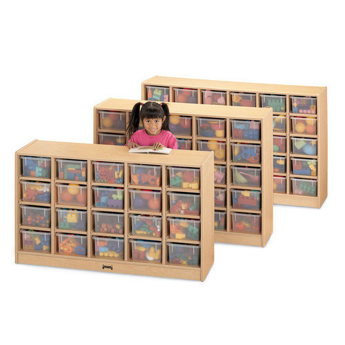 Jonti-Craft Tub Single 20 Compartment Cubby