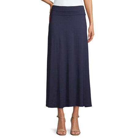 Women's Casual Long Maxi Skirt