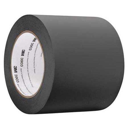 3M 3903 Duct Tape,Blk,50 yd. L x 1/2in. W 3903 Vinyl Duct Tape