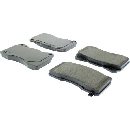 Go-Parts OE Replacement for 2007-2014 Ford Mustang Front Disc Brake Pad Set for Ford Mustang (Base / Boss 302 / GT / Shelby GT500 / Shelby