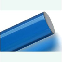"""Acrylic Lucite Rod Dowel - One 1/2"""" (12.7mm) x 24""""(610mm) (Blue)"""