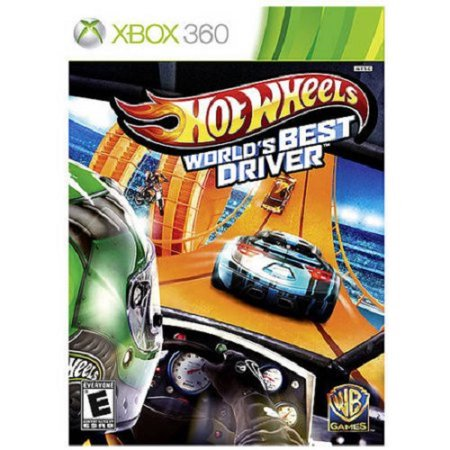 Warner Bros. Hot Wheels: World's Best Driver (Xbox 360) - (Best Xbox 369 Games)