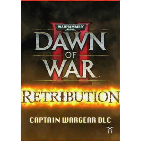 Warhammer 40,000 : Dawn of War II - Retribution - Captain Wargear DLC, Sega, PC, [Digital Download],