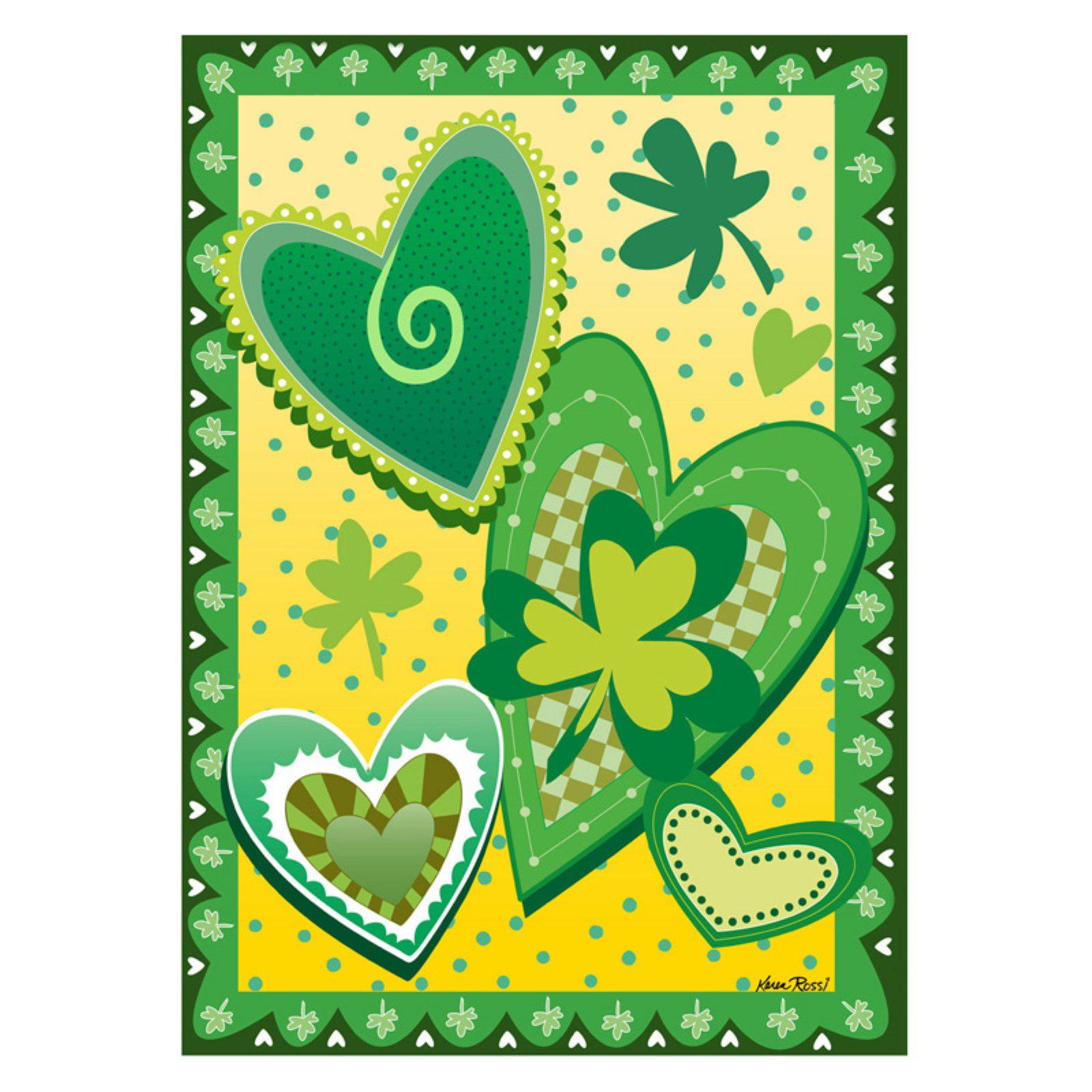 Toland Home Garden Heart O the Irish Flag by Toland Home Garden