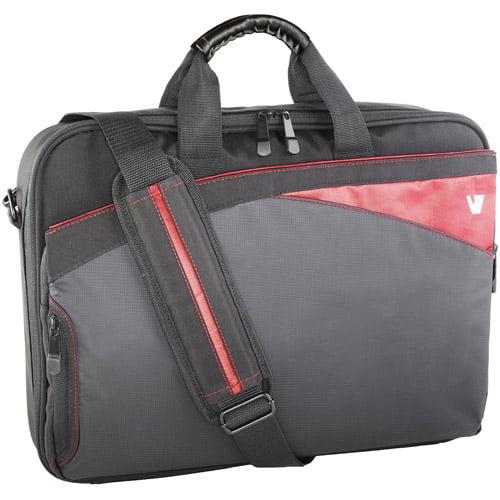 "V7 Edge Frontloader Bag for 16.1"" Laptops, Black"