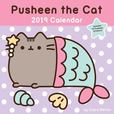 2019 PUSHEEN THE CAT WALL