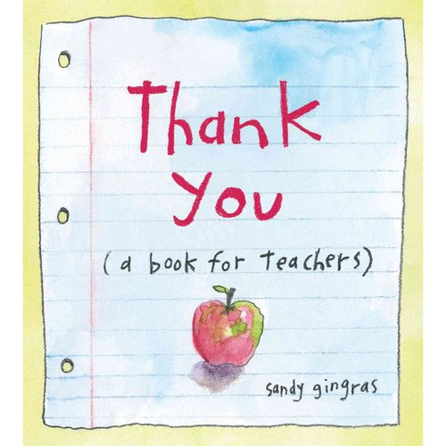 Thank You: A Book for Teachers