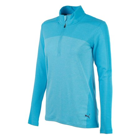 PUMA WOMENS EVOKNIT SEAMLESS 1/4 GOLF PULLOVER 574645 -NEW 2018- PICK A SIZE