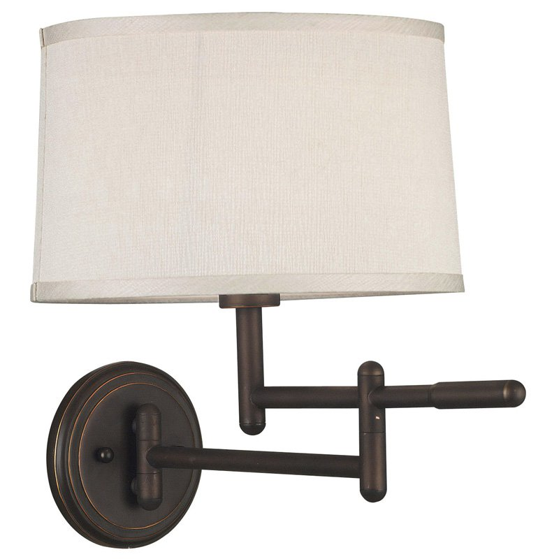 Kenroy Home Theta Wall Swing Arm Lamp 19W in. Copper Bronze by Kenroy Home
