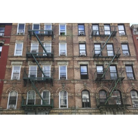 - Buildings Featured on Cover of Led Zeppelin Album Physical Graffiti, St. Marks Place, East Village Print Wall Art By Wendy Connett