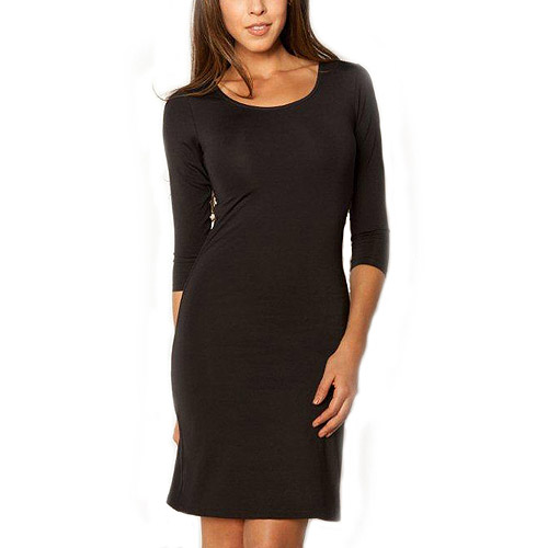 Smart & Sexy Women's Slimming Shaping 3/4 Sleeve Dress