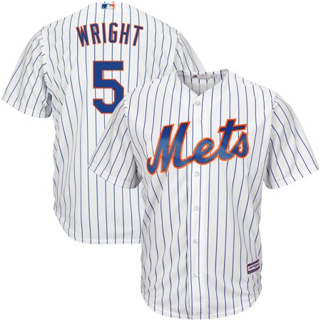 David Wright New York Mets Majestic Home Big & Tall Replica Cool Base Player Jersey -
