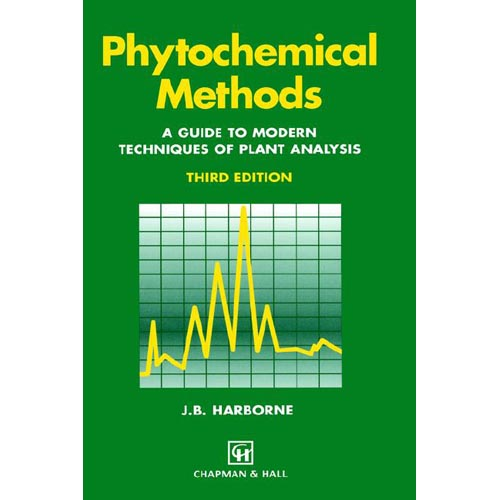 Phytochemical Methods: A Guide to Modern Techniques of Plant Analysis