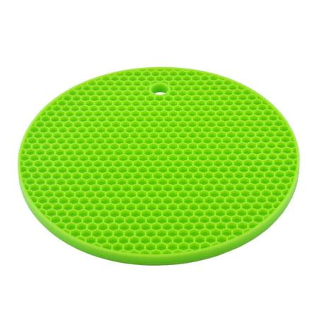 Unique Bargains Honeycomb Design Heat Resistant Mat Cup Cushion Placemat Pad - Shape Of A Honeycomb