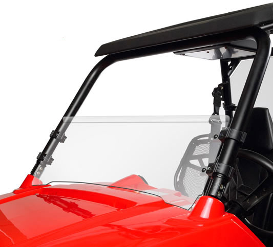 Kolpin Rzr Half-Fixed Windshield P/N 2008
