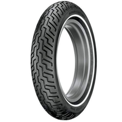 Dunlop D402 Single White Bar Touring Front Tire MT90B-16