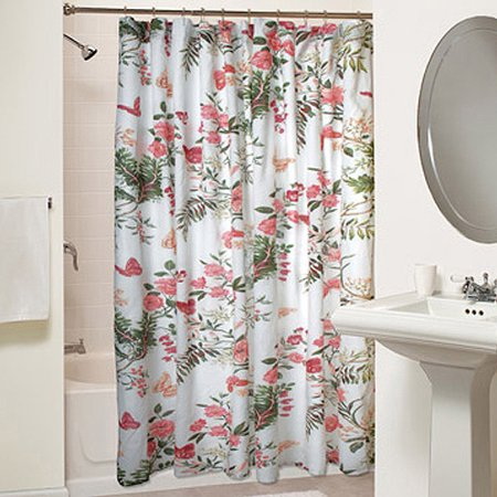 Curtains Ideas botanical shower curtain : Botanical Shower Curtain - Walmart.com
