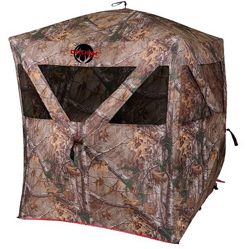 The Crush Enforcer Hub Blind, Realtree