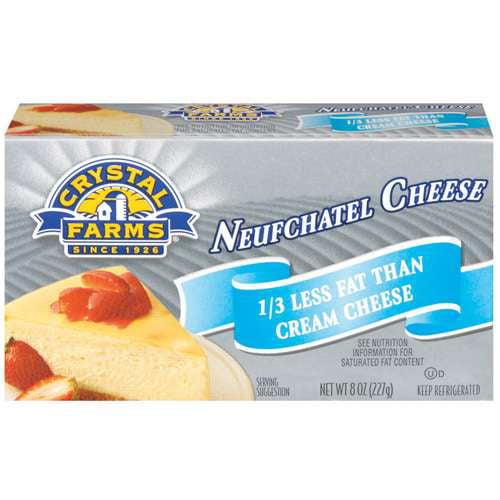 Crystal Farms Neufchatel Cheese, 8 oz