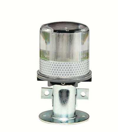 TAPCO 3337-00003 Warning Light, (4) LED, White, Solar NiMH