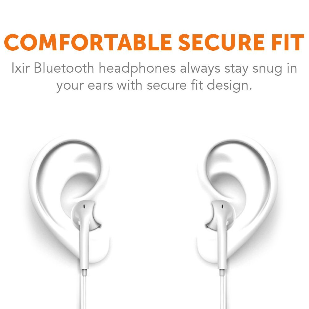 Samsung,Google Pixel,LG Apple truwire BlackBerry Curve 3G 9300 Bluetooth Headset In-Ear Running Earbuds IPX4 Waterproof with Mic Stereo Earphones CVC 6.0 Noise Cancellation works with