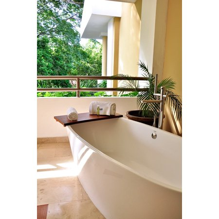 Canvas Print Relax Bath Health Relaxation Jacuzzi Resort Hotel Stretched Canvas 10 x 14
