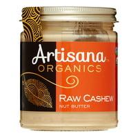 Artisana Organic Raw Cashew Butter, 8 Oz
