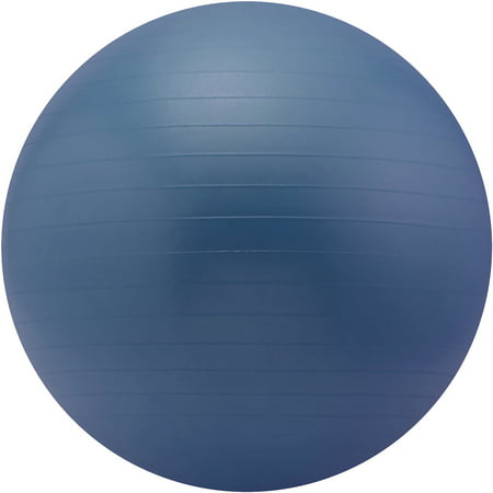 Sivan Health and Fitness Burst Resistant Yoga Exercise Fitness Pilates Blue, 65cm Stability Ball
