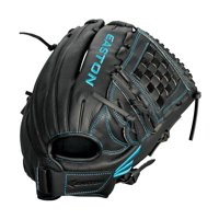"EASTON BLACK PEARL Fastpitch Softball Glove, Right-Hand Throw, 12"", All Position Pattern, Split Woven Web"
