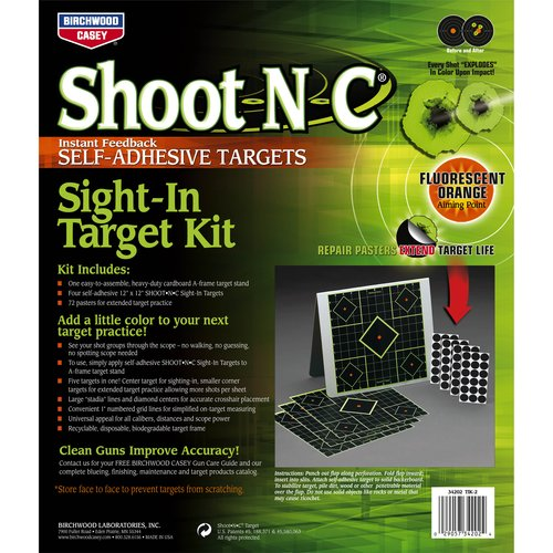 "Shoot•N•C® 12"" Sight-In Target Kit - 4 targets (4 - 12"")"