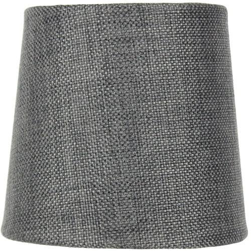Home Concept Inc 5.5'' Burlap Fabric Drum Lamp Shade