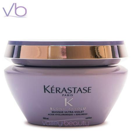 Kerastase Blond Absolu Hair Masque Ultra-Violet Anti-Brass Blonde Perfecting Purple Hair Mask, 200ml ()