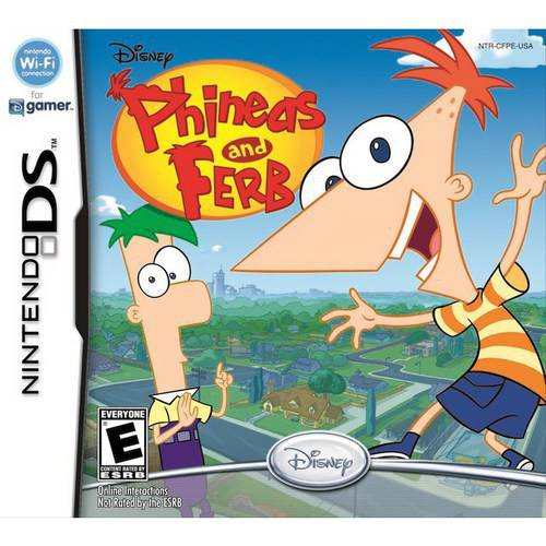 Phineas And Ferb (DS) - Pre-Owned
