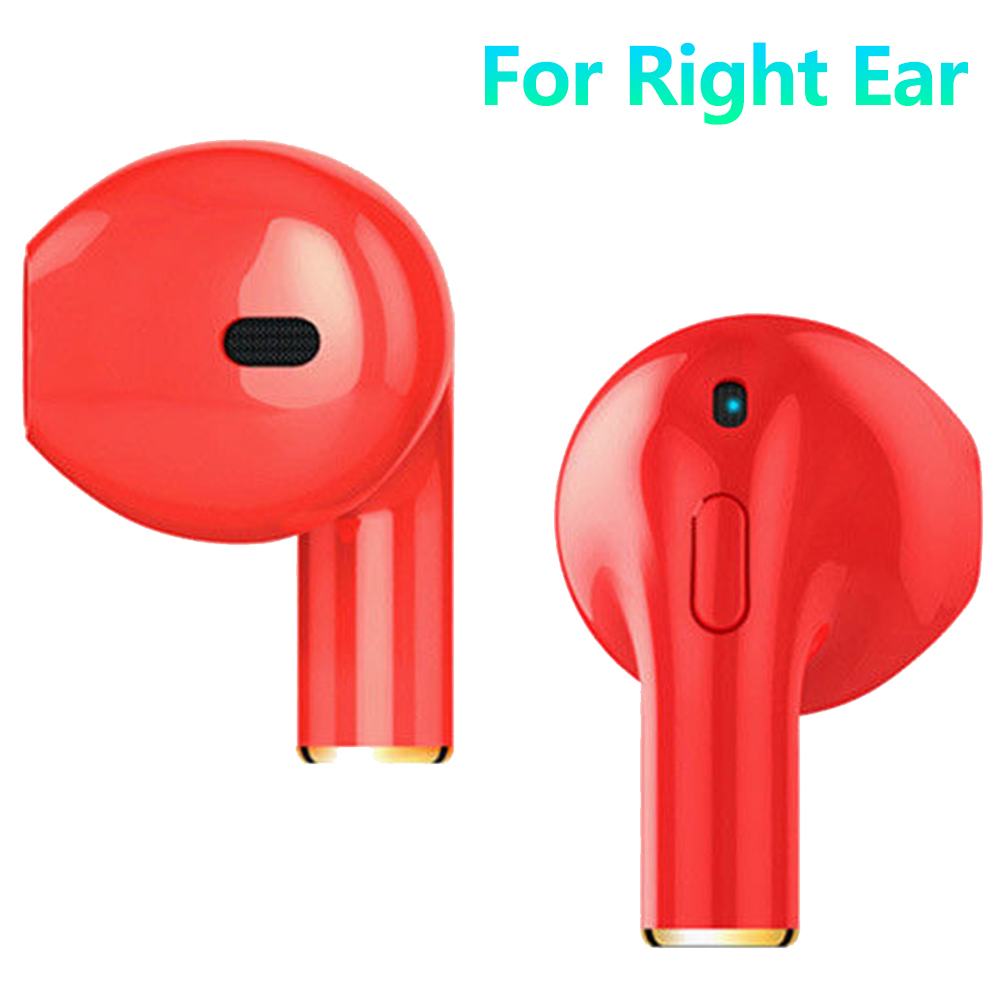 Mini Bluetooth Earbud Smallest Wireless Invisible Headphone In-Ear Earphone with 6 Hour Playtime Car Headset with Mic for iPhone and Android Smart Phones(Single)