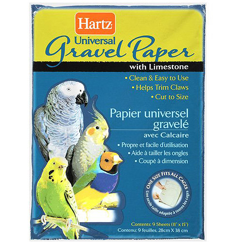 Hartz: Universal Gravel With Limestone Paper, 9 Ct