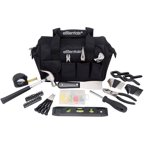 Essentials 53-Piece Around-The-House Tool Kit, Black