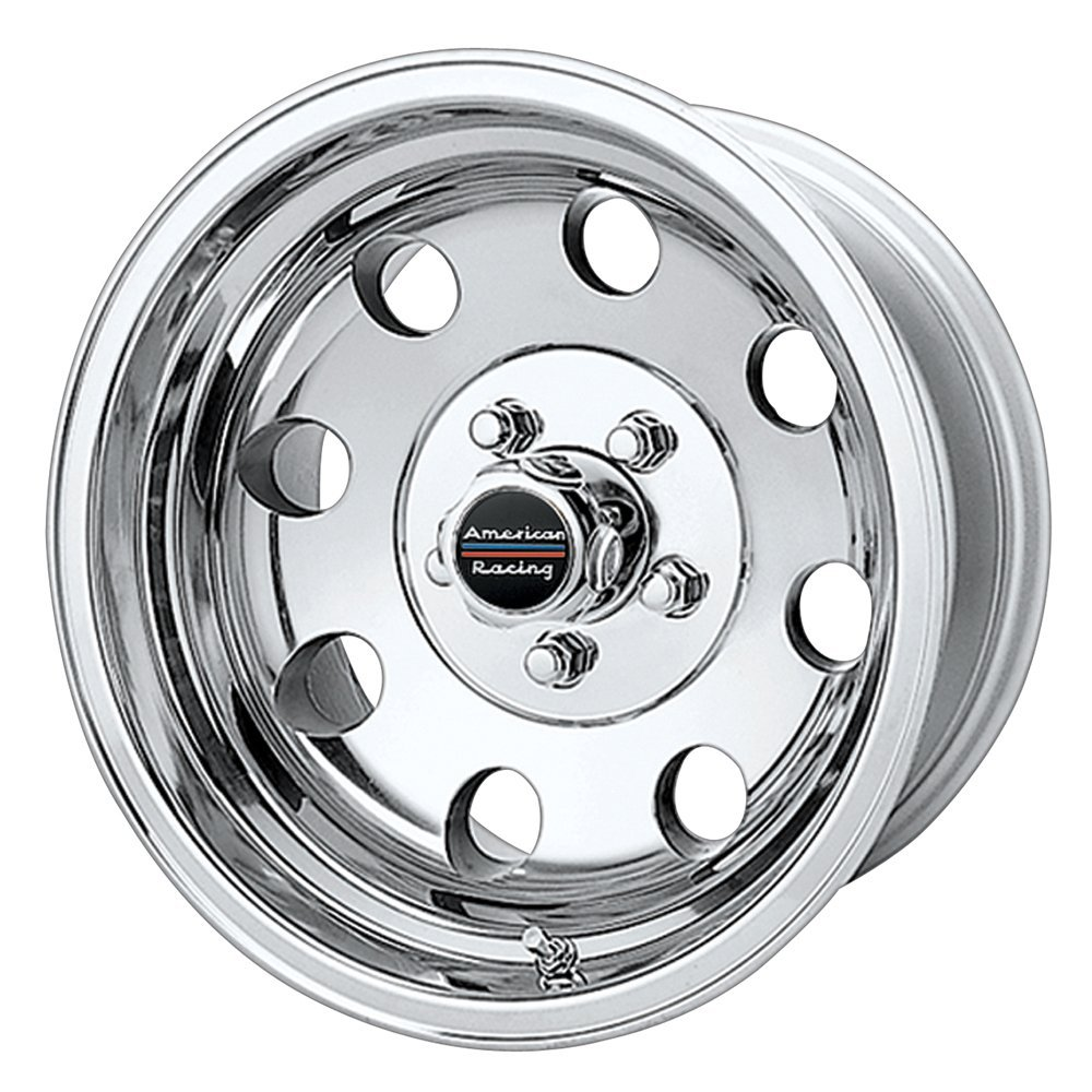 """American Racing Baja AR172 Polished Wheel (15x8""""/5x5.5"""")"""
