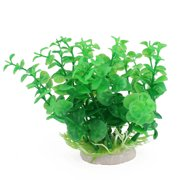 Garden Fish Pond Plastic Artificial Ornament Aquarium Plant Decoration Green
