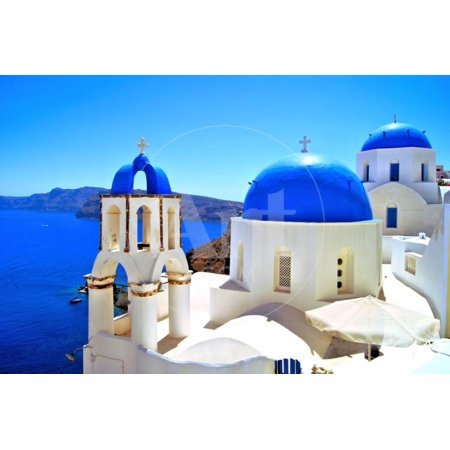 Classic Greek Scene Print Wall Art By Jeni Foto (Foto Polarisiert)