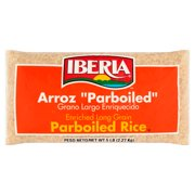 (2 Pack) Iberia Parboiled Long Grain Rice, 5 lb