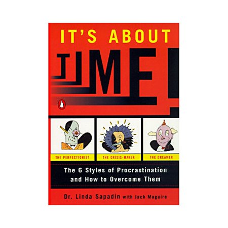 It's About Time!: The Six Styles of Procrastination and How to Overcome Them According to a recent study, only 40% of students complete their bachelor's degree in four years. Why? Because they fail to assess priorities, finish projects, and handle distractions. In other words, they procrastinate Dr. Linda Sapadin comes to the r